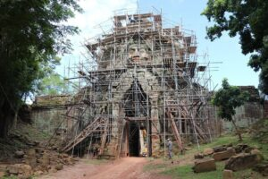 APSARA National Authority is embarking on the restoration process of the Takav Gate