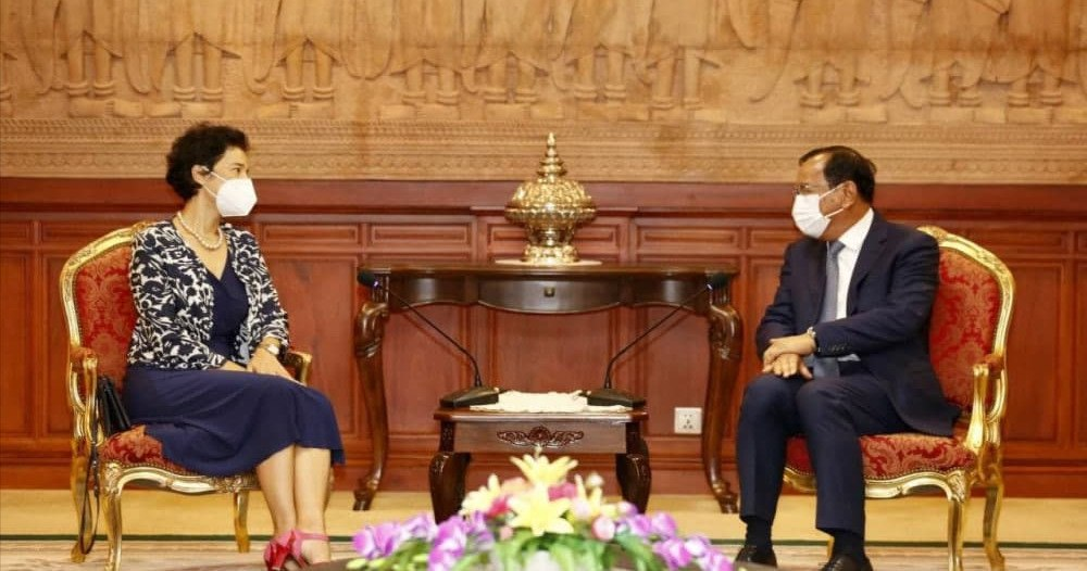 Cambodia, France To Bolster Bilateral And Regional Cooperation