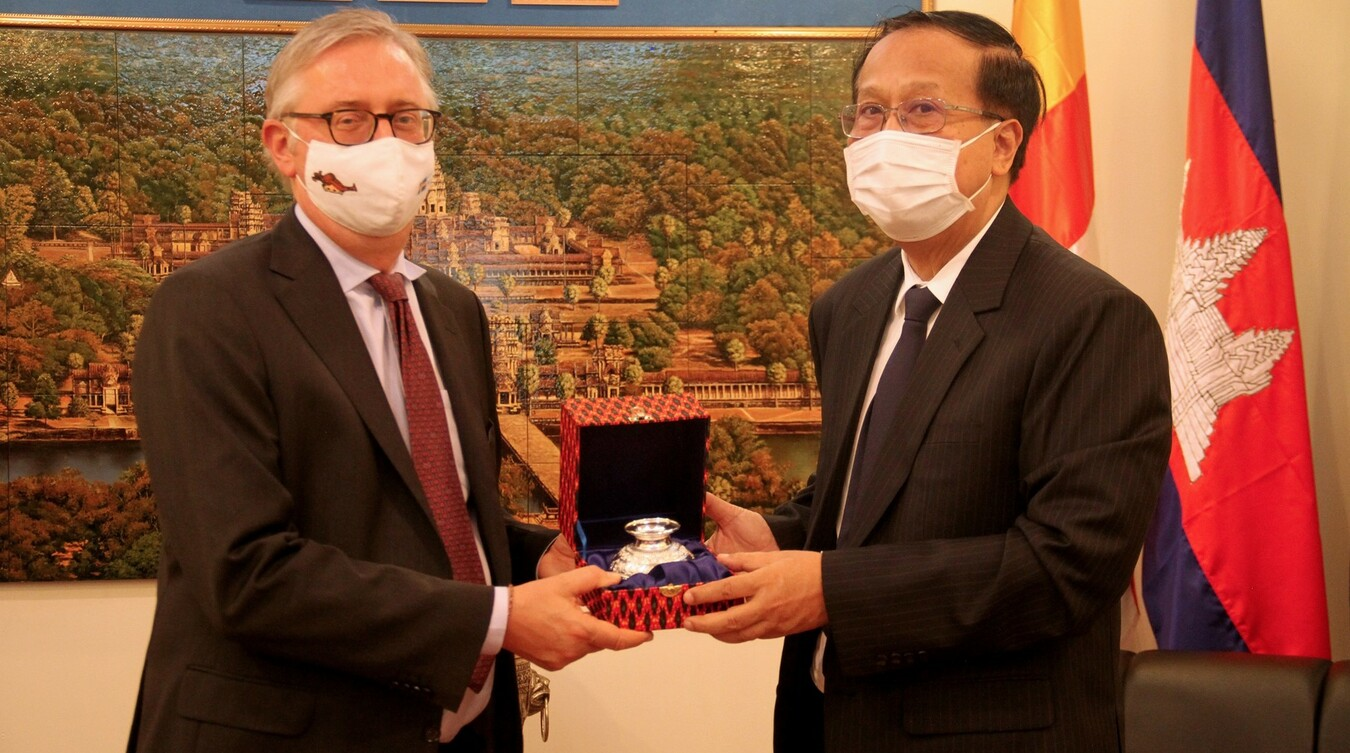 Cambodia Encourages More Investments from Sweden