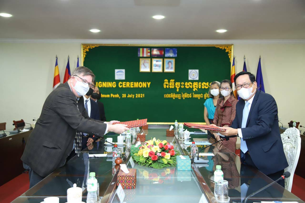 Labor Ministry and ACILS Sign MoU to Promote Labor Sector