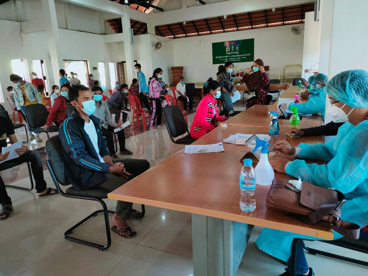 As of July 28, 7 Million Cambodians Vaccinated