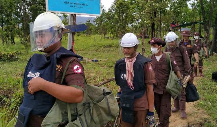 China to continue demining aid grant