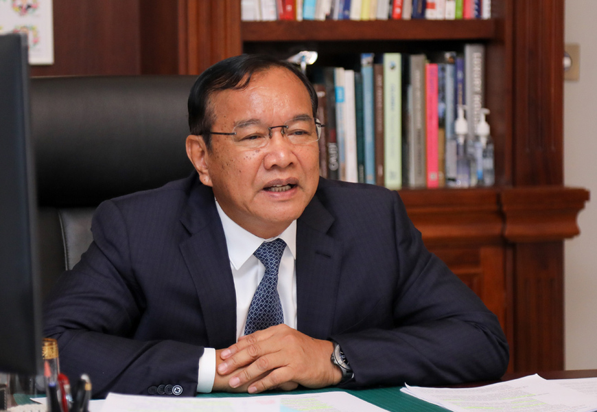 Cambodian Top Diplomat: Democracy Is Not A Sprint Rather A Long-Distance Running