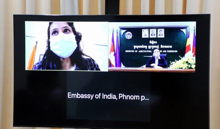 Cambodia, India discuss agricultural cooperation