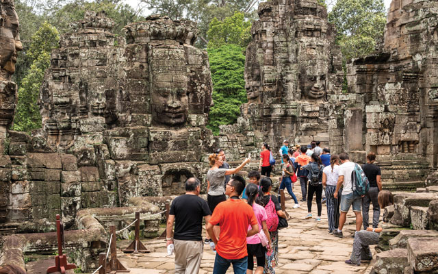Over 90,000 International Tourists Visit Cambodia In First Five Months