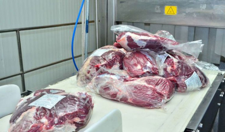 Imported meat from India infested with Covid-19 virus