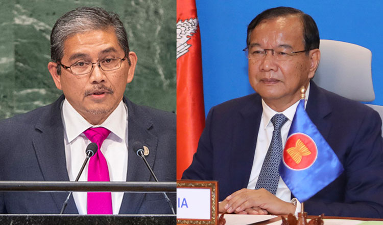Sokhonn welcomes Brunei minister's appointment as Asean envoy to Myanmar