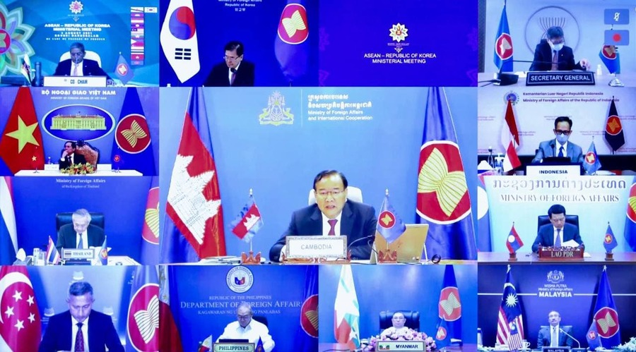 Cambodia and ASEAN Encourage More Active Role of AICHR on COVID-19 Pandemic