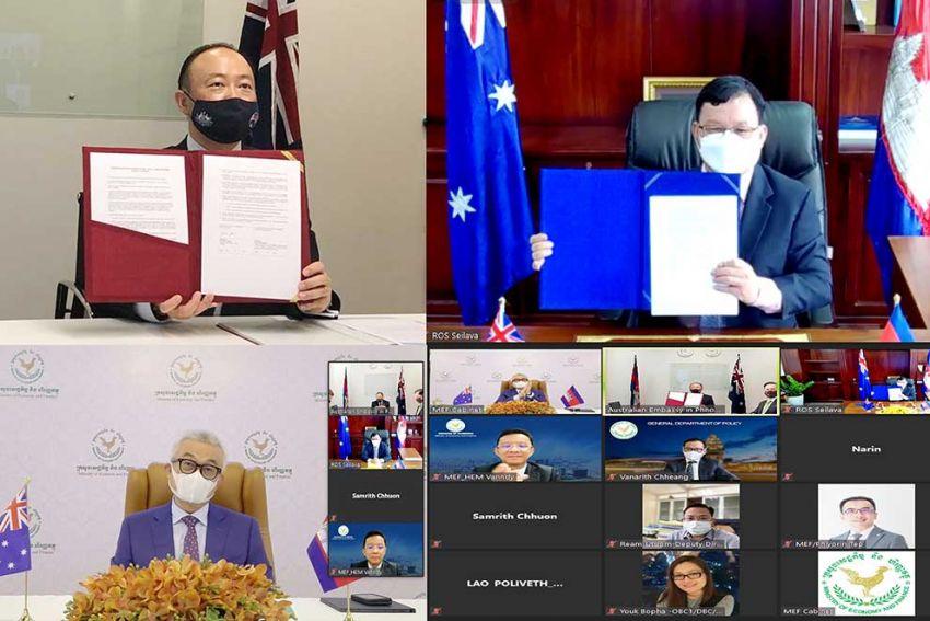 Australia provides $65M for development in Cambodia