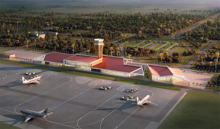 Koh Kong's Dara Sakor International Airport to be opened for test run later this year