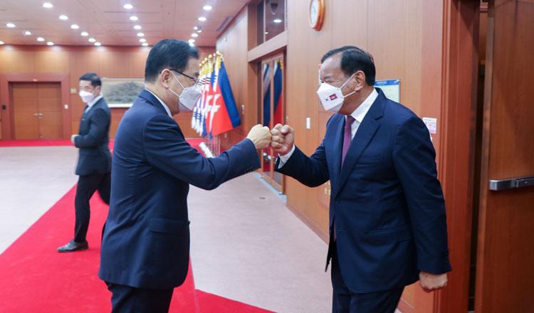 S. Korea to Continue Aiding Cambodia's Development