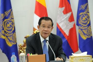 PM Hun Sen Delivers Remarks at the Global COVID-1 9 Summit